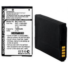 Blackberry 8800 C-X2 3.7 Volt 1400mAh Li-Ion Cell Phone Battery, BLI-1101-104
