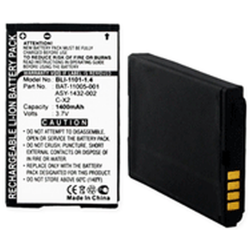 Blackberry 8800 C-X2 3.7 Volt 1400mAh Li-Ion Cell Phone Battery, BLI-1101-104
