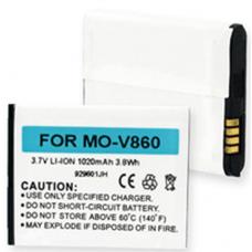 Motorola BN70 3.7v 1020mAh Li-Ion Cell Phone Battery, BLI-1113-1