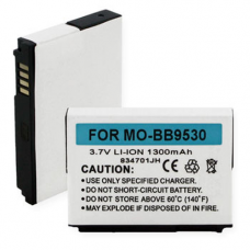 Blackberry Curve 3.7V 1300mAh Li-Ion Cell Phone Battery, BLI-1150-1.3