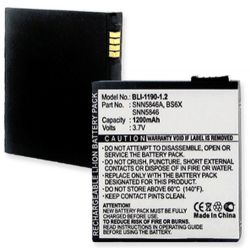 Motorola SNN5846 3.7v 1200mAh cell phone battery, BLI-1190-1.2