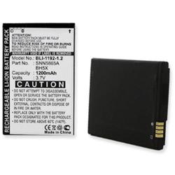 Motorola BH5X 3.7v 1200mah Li-Ion Cell Phone Battery, BLI-1192-1.2