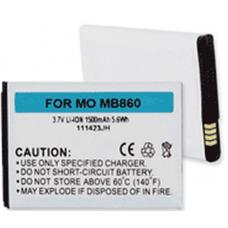 Motorola SNN5880A, BH6X 3.7V 1500mah Li-Ion Cell Phone Battery, BLI-1194-105