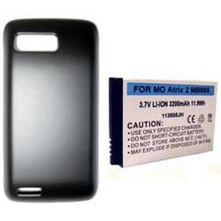 Motorola MB865 3.7v 3200mAh Extended Cell Phone Battery, BLI-1198-3.2