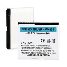 MOTOROLA TRIUMPH WX435 FB0-2 3.7V 1300mAh LI-ION Cell Phone Battery, BLI-1199-103