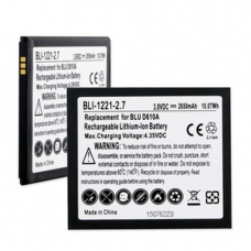 BLU BLT-D610 3.8V 2650mAh Li-Ion Cell Phone Battery, BLI-1221-207