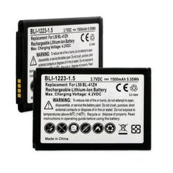 LG BL-41ZH 3.7V 1500mAh LI-Ion Cell Phone Battery, BLI-1223-105