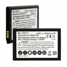 LG BL-51YH 3.8V 3000mAh LI-Ion Cell Phone Battery, BLI-1227-3