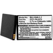 Kyocera Echo 3.7V 1100mah Li-Ion Cell Phone Battery, BLI-1240-101