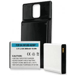 Samsung Infuse 4G 3.7V 2800mah Cell Phone Battery, BLI-1245-2.8