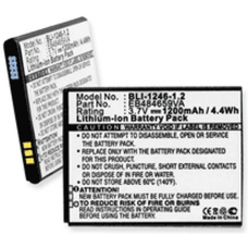 Samsung Exhibit 4G 3.7V 1200mah Cell Phone Battery, BLI-1246-1.2