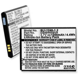 Samsung Exhibit 4G 3.7V 1200mah Cell Phone Battery, BLI-1246-1.2