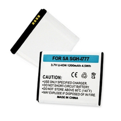 SAMSUNG GALAXY S II SGH-I777 3.7V 1.2Ah LI-ION Cell Phone Battery, BLI-1257-102