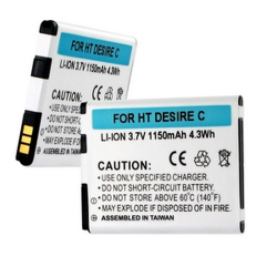 HTC DESIRE C 3.7V 1150mAh LI-ION Cell Phone Battery, BLI-1286-102