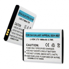 Samsung GALAXY APPEAL SGH-I827 3.7v 1000mah Li-Ion Cell Phone Battery, BLI-1306-1
