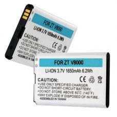 ZTE V8000 3.7V 1650mAh Li-Ion Cell Phone Battery