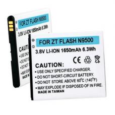 ZTE FLASH 3.8V 1650mAh Li-Ion Cell Phone Battery, BLI-1319-106