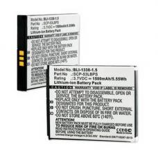 KYOCERA HYDRO ELITE 3.7V 1500mAh LI-ION Cell Phone Battery, BLI-1338-105