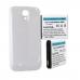 SAMSUNG GALAXY S 4 GT-I9500 3.8V 5200mAh LI-ION NFC Cell Phone Battery, White Cover, BLI-1341-502W