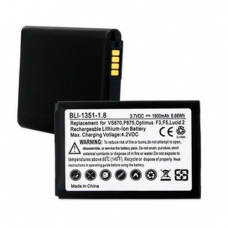 LG BL-59JH 3.7V 1800mAh LI-Ion Cell Phone Battery, BLI-1351-108