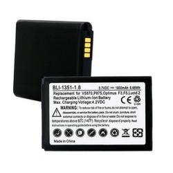 LG BL-59JH 3.7V 1800mAh LI-Ion Cell Phone Battery, BLI-1351-108