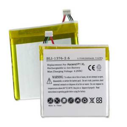 HUAWEI ASCEND P1 XL 3.7V 2600mAh Li-Poly Cell Phone Battery, BLI-1376-206