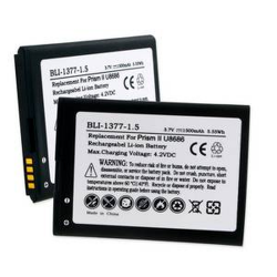 HUAWEI PRISM II U8686 3.7V 1500mAh Li-Ion Cell Phone Battery, BLI-1377-105