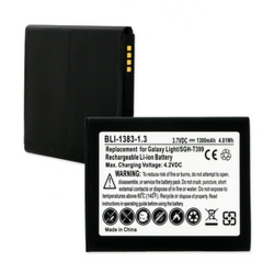 Samsung GALAXY LIGHT 3.7V 1300mAh LI-ION Cell Phone Battery, BLI-1383-103