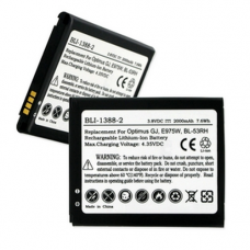 LG OPTIMUS GJ 3.8V 2000mAh LI-Ion Cell Phone Battery, BLI-1388-2