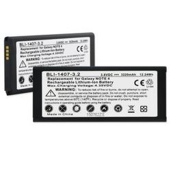 SAMSUNG GALAXY NOTE 4 3.8V 2750mAh LI-ION NFC Cell Phone Battery, BLI-1407-302