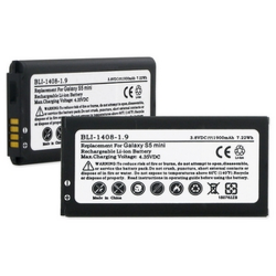 SAMSUNG GALAXY S5 MINI 3.8V 1900mAh LI-ION NFC Cell Phone Battery, BLI-1408-109
