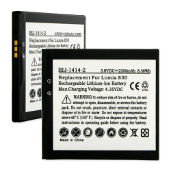 Nokia BV-L4A 3.8V 2200mAh Li-Ion Cell Phone Battery, BLI-1414-2