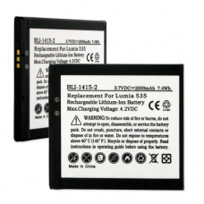 Nokia BL-L4A 3.7V 2000mAh Li-Ion Cell Phone Battery, BLI-1415-2