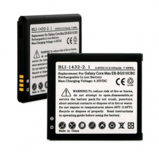 SAMSUNG GALAXY CORE MAX  3.8V 2100mAh LI-ION Cell Phone Battery, BLI-1432-201