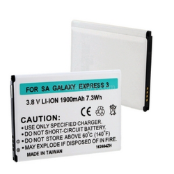 SAMSUNG GALAXY EXPRESS 3 3.7V 1900mAh LI-ION Cell Phone Battery, BLI-1470-109