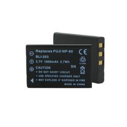 Casio NP-30, Fuji NP-60 3.7v 1000mah Digital Camera Battery, BLI-203