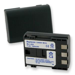 Canon NB-2L 7.4v 700mah Digital Camera Battery, BLI-204