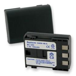 Canon NB-2L 7.4v 700mah Digital Camera Battery, BLI-204