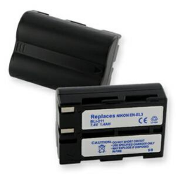 Nikon EN-EL3 7.4v 1400mah Digital Camera Battery, BLI-211