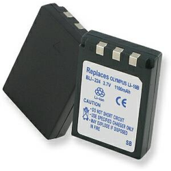Olympus LI-10B 3.7v 1100mah Digital Camera Battery, BLI-224