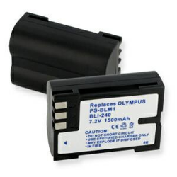 Olympus BLM-1 7.2V 1500mAh Digital Camera Battery, BLI-240