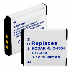 Kodak KLIC-7004 3.7V 1000mAh Digital Camera Battery, BLI-330