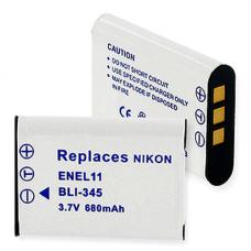 Nikon EN-EL11 3.7V 680mAh Li-Ion Digital Camera Replacement Battery, BLI-345