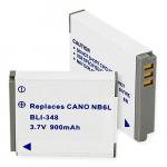 Canon NB-6L 3.7v 900mah Digital Camera Battery, BLI-348