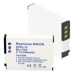 Nikon EN-EL12 3.7V 850mAh Li-Ion Digital Camera Replacement Battery