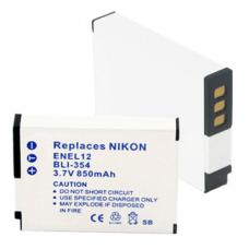 Nikon EN-EL12 3.7V 850mAh Li-Ion Digital Camera Replacement Battery, BLI-354