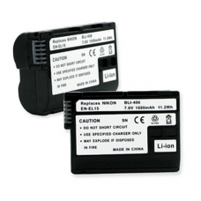 Nikon EN-EL15 7.2V 1600mAh Digital Camera Battery, BLI-406