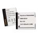 Panasonic Lumix DMC-FH2 3.6v 650mAh Li-Ion Battery, BLI-418