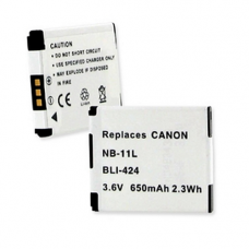 Canon NB-11L 3.6V 650mAh Li-Ion Digital Camera Battery, BLI-424