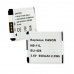 Canon NB-11L 3.6V 650mAh Li-Ion Digital Camera Battery, BLI-424